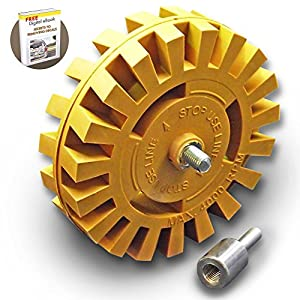 Amazon.com: Whizzy Wheel Car Decal Remover with Drill ...