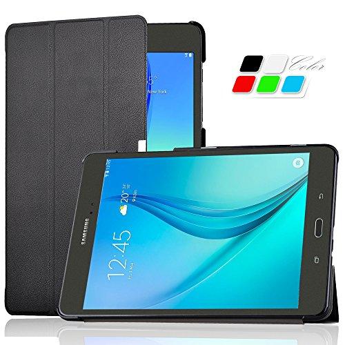 Samsung Galaxy tab A 9.7 hülle Schutzhülle, IVSO hochwertiges PU Leder Etui - mit Standfunktion und automatischem Schlaf Funktion, super 360° Anti-Wrestling, ist für Samsung Galaxy Tab A T550N/T555N 24,6 cm (9,7 Zoll) WiFi Tablet-PC perfekt geeignet.