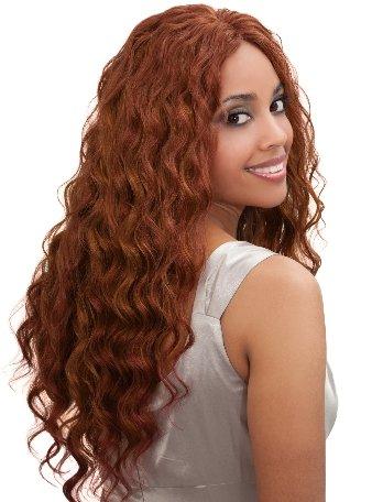 BOBBI BOSS Indi Remi OCEAN WAVE Virgin Hair, 12 Inches, 2-Dark Brown