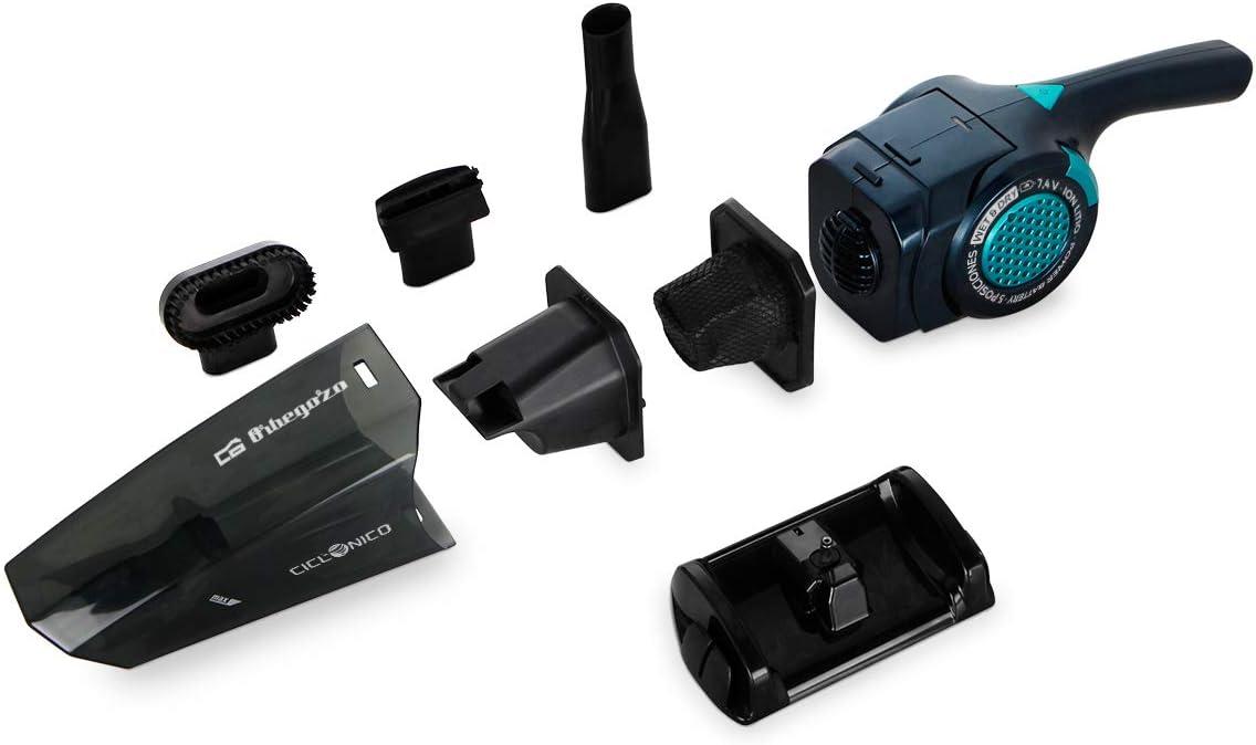 Orbegozo AP 1500 - Aspiradora de mano sin cable, aspira sólidos y ...
