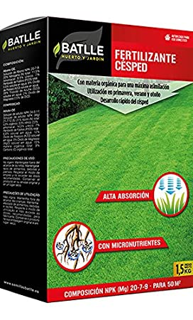 Semillas de Césped - Césped Rústico y Decorativo 5kg - Batlle