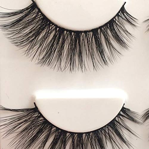 Eye lashes with glue set
