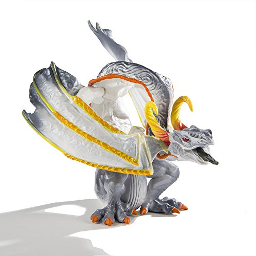 Safari Ltd – Smoke Dragon - Realistic Hand Painted Toy Figurine Model - Quality Construction from Safe and BPA Free Materials - For Ages 3 and Up