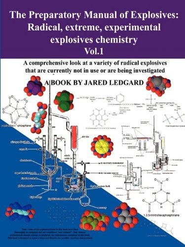 Preparatory Manual Explosives Experimental Chemistry product image