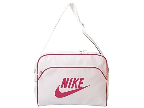 Track Blanco Bandolera Bolso Nike Heritage Bag BlancorojoAmazon nmN08w