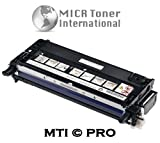 MTI © PRO Dell XG721 / PF030 Compatible Black Toner Cartridge (Yield: 8,000) For Dell Printers: 3110, 3110cn, 3115, 3115cn (310-8092), Office Central