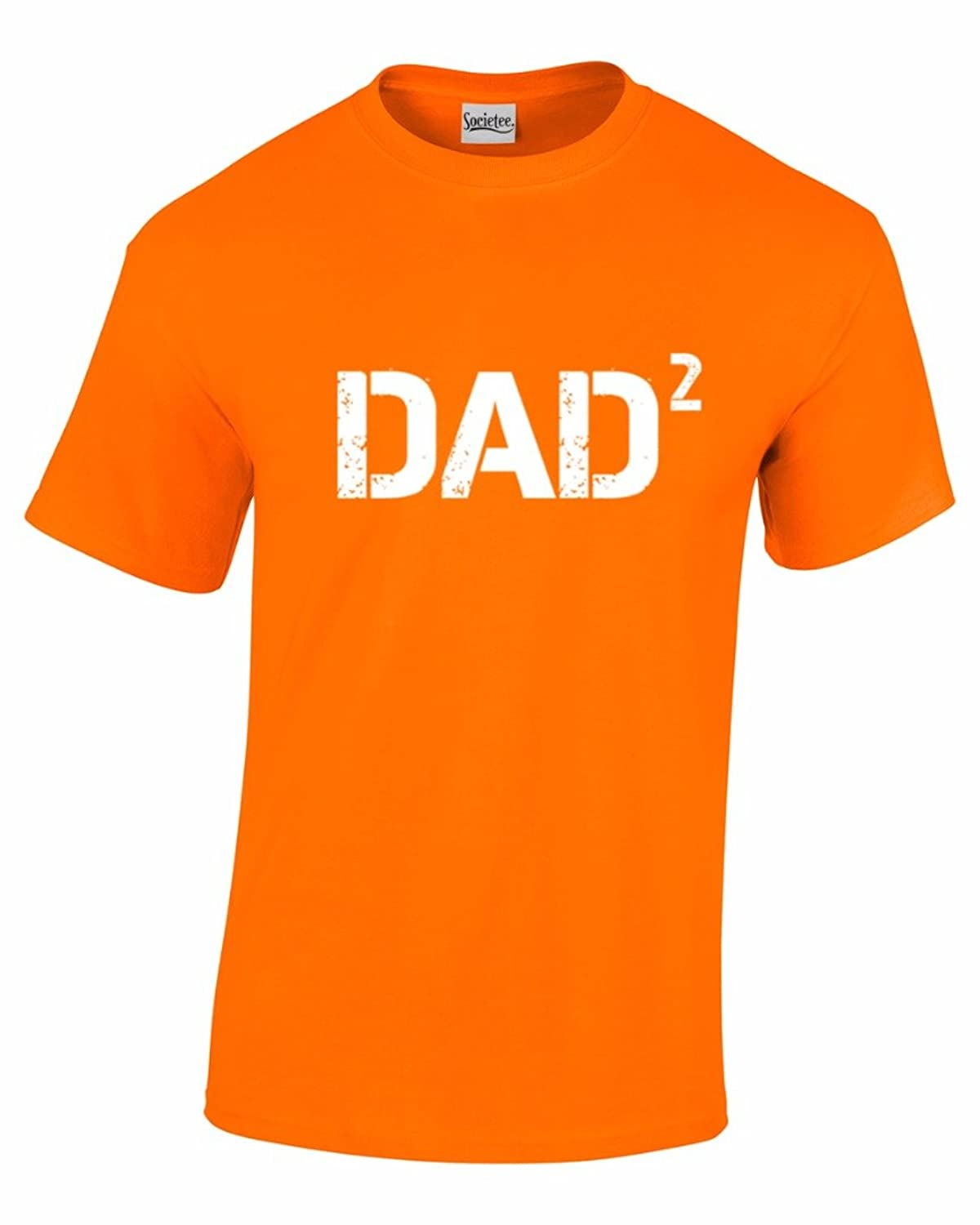 Dad Squared - Dad To Two Kids Mens T-shirt