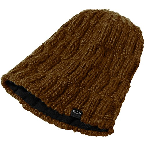 Oakley Men's Bullwhip Beanie, One Size, Burnished