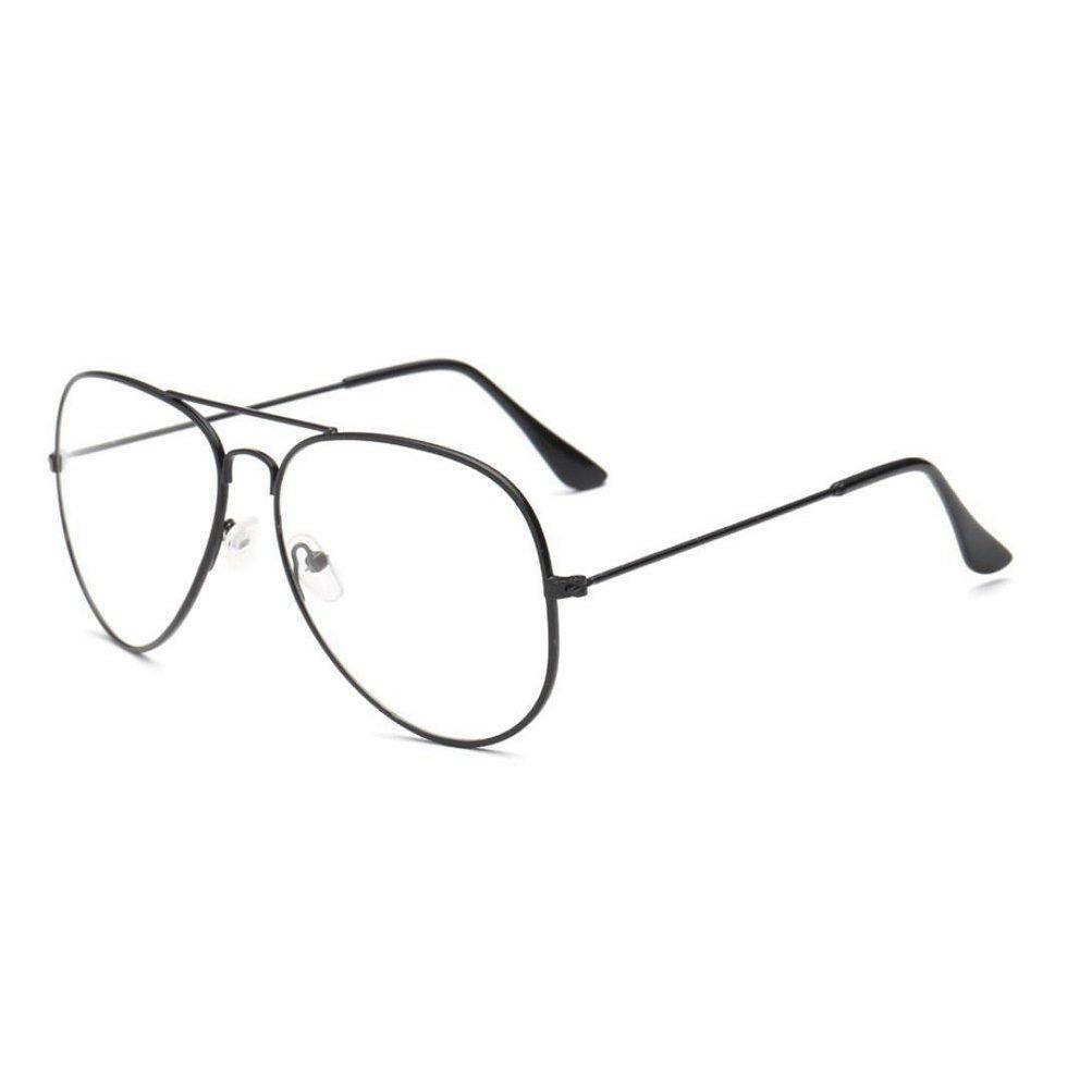 Xinantime Gafas de Sol Mujer, Hombres Mujeres Gafas Transparente 2018 Moda (Negro)