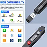 ESYWEN Laser Pointer for Cats Dogs, 2.4GHz Wireless