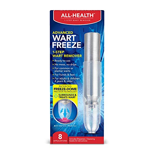 All-Health Advanced Wart Freeze 1-Step Wart Remover, 8 Applications