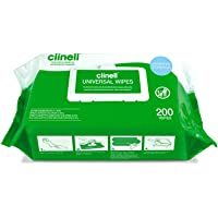 Clinell Universal Cleaning and Surface Disinfection Wipes - 6 Pack of 200 Wipes