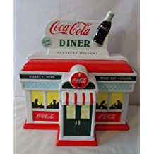 Coca-Cola Diner Cookie Jar
