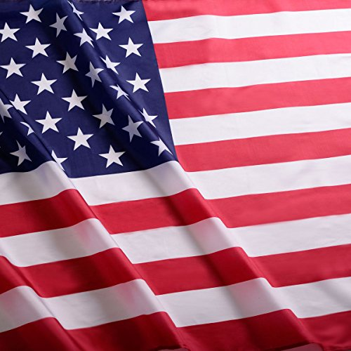 2' x 3' FT USA US U.S. American Flag Polyester Nylon Stars Brass - Ferrari Chile