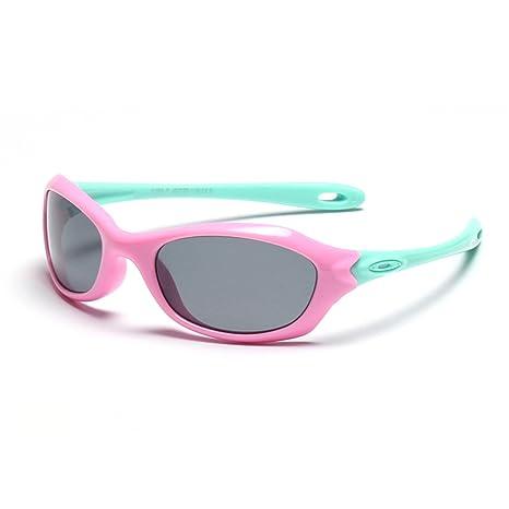 Gafas de seguridad Gafas de sol deportivas polarizadas para niños y niñas con protección UV para