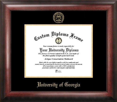 Campus Images GA987GED University of Georgia Embossed Diploma Frame, 12