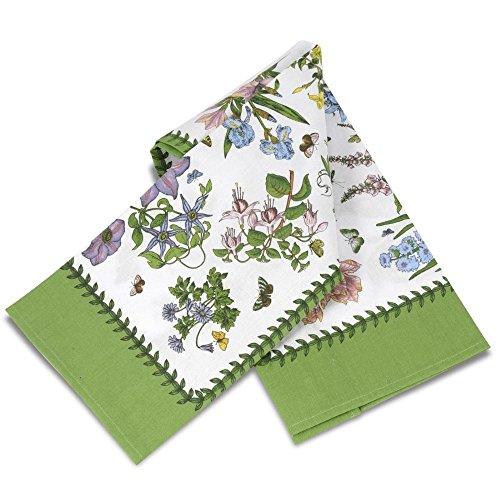 Portmeirion Botanic Garden - Chintz Tea Towel (Portmerion Kitchen Towel)