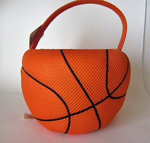 Plush Basketball Easter Basket or Halloween (Basketball Easter Basket)