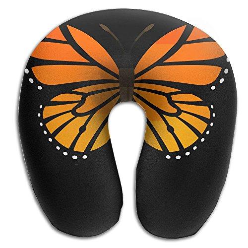 Monarch Butterfly Super U Type Pillow Neck Pillow Outdoor Travel Pillow Relief Neck Pain