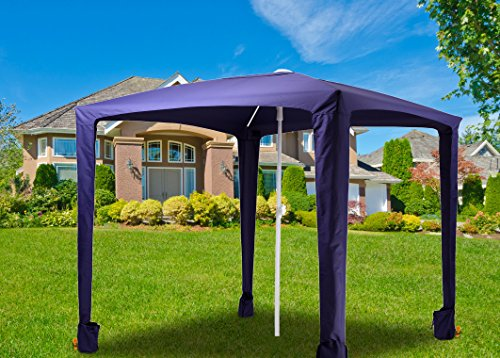 Ammsun 6.5ft x 6.5ft Canopy Outdoors Beach u0026 Sports Cabana Easy Setup and Take Down Large Shade Area More Elegant u0026 Classier than Beach Umbrella New ... & Ammsun 6.5ft x 6.5ft Canopy Outdoors Beach u0026 Sports Cabana Easy ...