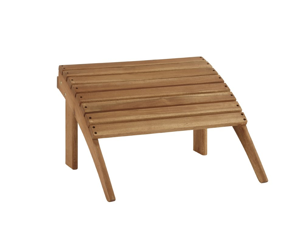 Linon Home Decor Teak Woodstock Ottoman by Linon Home Dcor (Image #4)