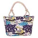 Swesy Fashion Printed Women Shoulder Bag Canvas Handbag Top-Handle Bags