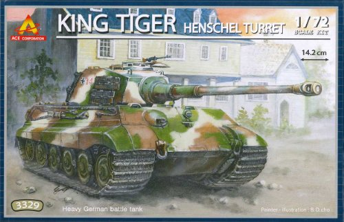 (1/72 King Tiger (Henschel turret) by ACE)