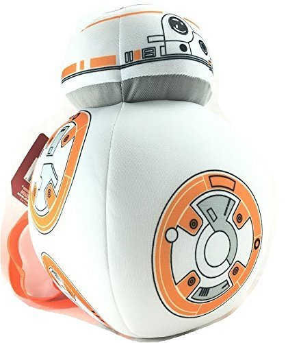 Image Unavailable. Image not available for. Color  Star Wars Boys  Disney BB -8 Plush Backpack ... ee108c1a059c3