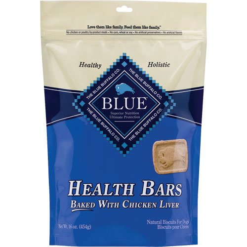 Blue Buffalo Health Bars – Chicken Liver – 18 oz., My Pet Supplies