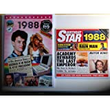1988 Birthday Gifts Set - 1988 DVD Film , 1988 Chart Hits CD and 1988 Birthday Card