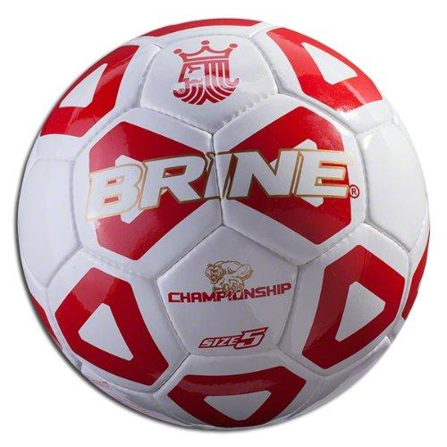Brine Championship 2014 Soccer Ball (Scarlet, 5) (Brine Championship Soccer Ball)