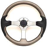 Uflex Boat Steering Wheel SPARGI-C/T | 13 3/4 Inch Titanium