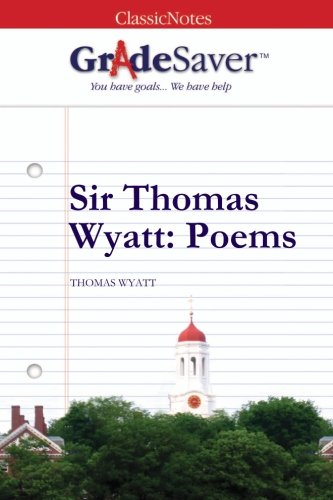 thomas wyatt my galley