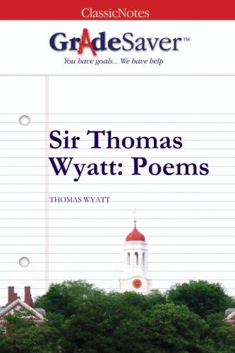 Thomas Wyatt Poems 3