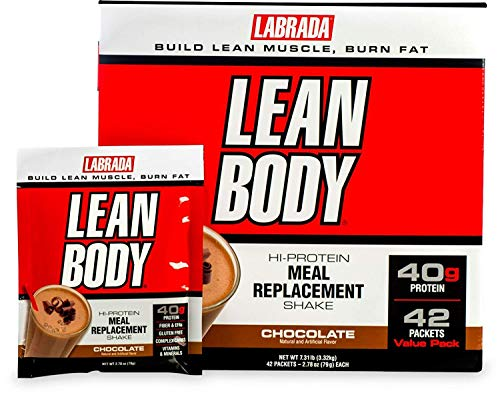 Labrada Nutrition Lean Body, Chocolate, 79-Gram Packets (Pack of - Body Lean