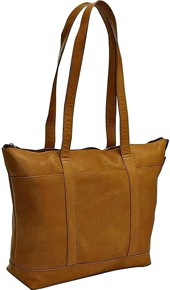 Le Donne Leather Medium Classic Pocket Tote Bag