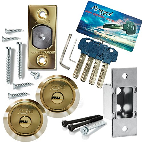 Angal High Security Double Deadbolt Lock
