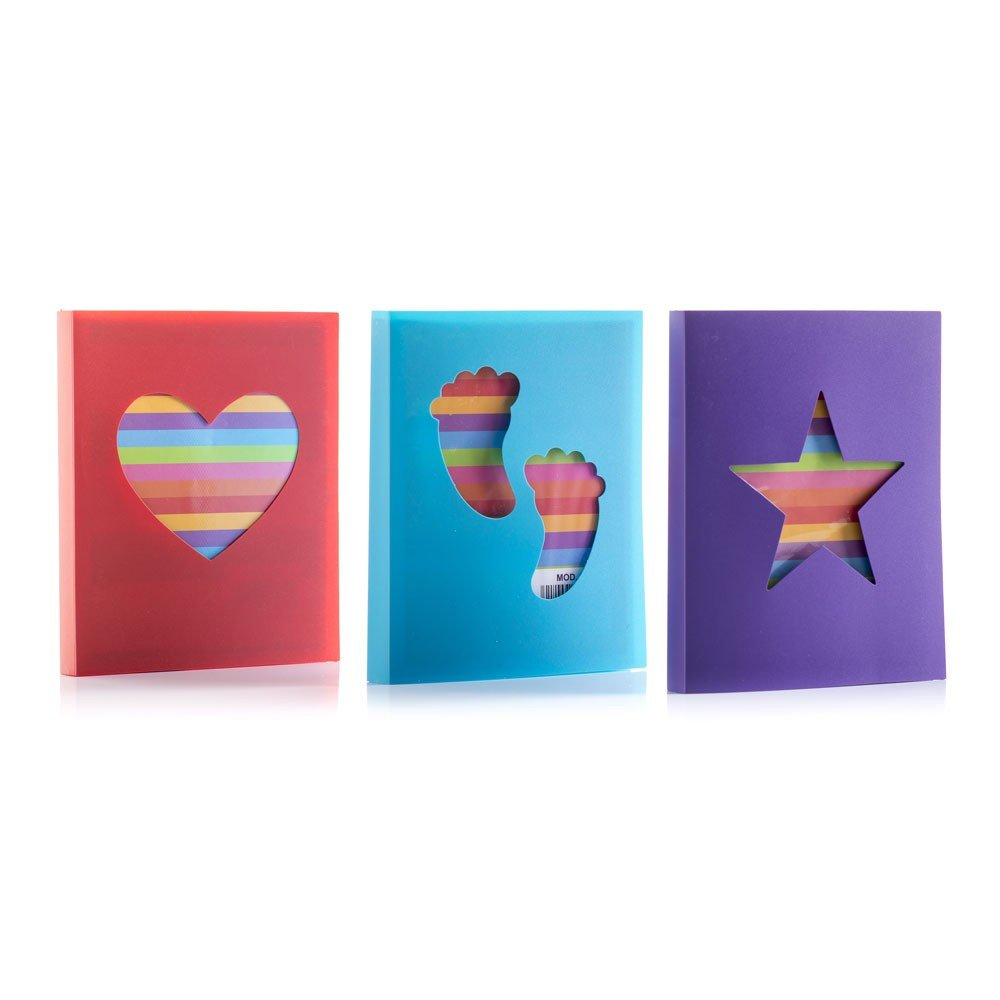 Hofmann Set of 3 Mini 6x4 Slip-in photo Albums