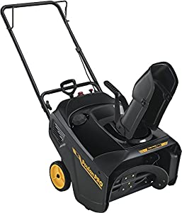2. Poulan Pro 961820015 136cc Single Stage Snow Thrower, 21-Inch