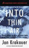 Into Thin Air, Jon Krakauer, 0307475255