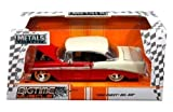 NEW 1:24 W/B JADA TOYS BIGTIME MUSCLE COLLECTION - RED 1956 CHEVROLET BEL AIR HARD TOP Diecast Model Car By Jada Toys