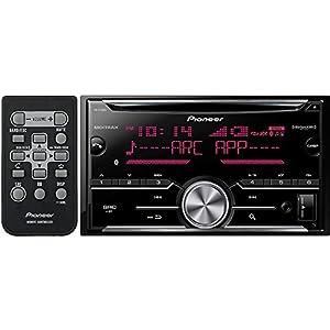 Pioneer FH-X730BS Vehicle Cd Digital Music Player Receivers, Black