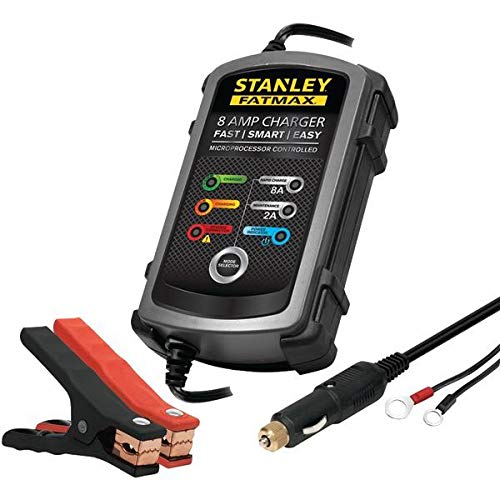 Amazon.com: Stanley(r) Bc8s 8-Amp Fatmax(r) Battery Charger/maintainer: STANLEY: Beauty