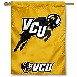 VCU Rams Jumping Ram House Flag Banner