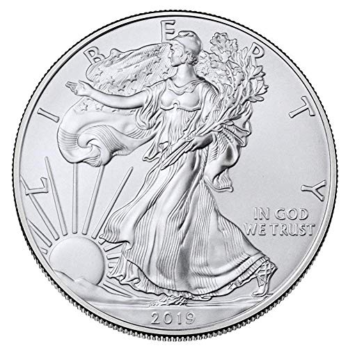 - Tcplyn Premium Quality 2019 American Statue of Liberty Eagle Iron Commemorative Coin Collection Gift American Statue of Liberty 2019 Silver Plated Commemorative Coin Eagle Claw Gold Coin Collection