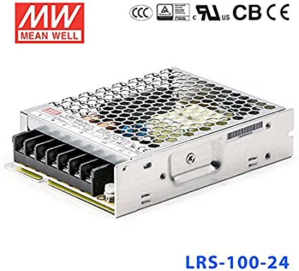 LRS-100 12V 24V 100W Single Output Switching Power Supply