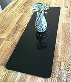 Black Acrylic Rectangular Table Runner - Large - 60 x 22 cm