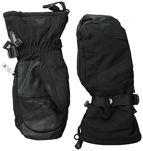 Gordini Stretch Gloves - Gordini Men's Da Goose V GTX Mitts, Black, Large