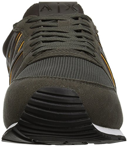 Armani Running Cypress A Retro Men Exchange X Sunshine Fashion Sneaker x64ZwZ57q