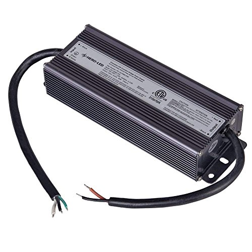 80w Transformer - HERO-LED PS-12LPS80-DIM ETL-listed Dimmable LED Constant Voltage Power Supply - Dimmble LED Transformer 12V DC, 6.7A, 80W
